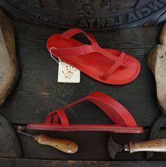 De 20 bedste billeder fra Læder sandaler | Sandaler, Læder