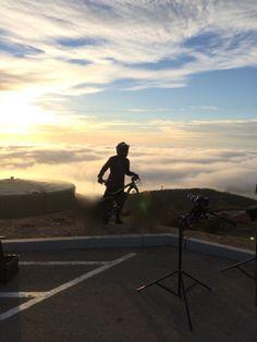 A ride above the earth with #rodinwheels. #mtb #kickstarter