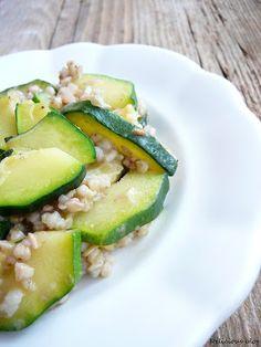 Delicious blog: Pohankové risotto s cuketou