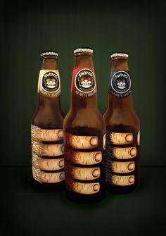 Achei a cara da Amazon Beer. Hand me a beer please #packaging : ) PD