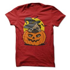 (Superior T-Shirts) Halloween Pug - Order Now...