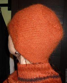Вяжем шапочку спицами (диагональное вязание) - Ярмарка Мастеров - ручная работа, handmade