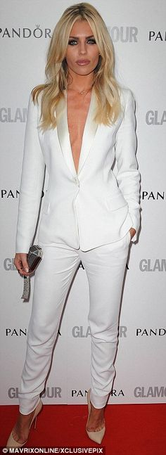Abbey Clancy Pandora & Glamour Women of the Year awards
