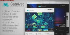Download and review of Catalyst Wordpress Portfolio Theme, one of the best Themeforest Creatives themes {Download & review at|Review and download at} {|-> }http://best-wordpress-theme.net/catalyst-portfolio-download-review/