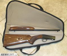 Browning SA-22 semi auto .22LR takedown rifle. These are awesome little .22's. Squirrel killers!