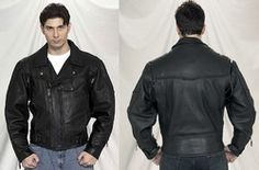 Pistol Pete Ultimate Leather Motorcycle Biker Jacket   Normal Price: $499.95 Discount Price: $165.00  You save 67.00%