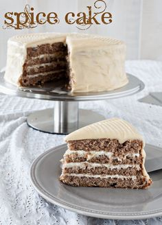 Spice cake was always a favorite of mine growing up.  I wish I had my grandma's recipe - but this just might do!!