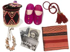 Marrakesh - My finds included bespoke Babouche slippers, a silk tassel belt, and of course plenty of textiles