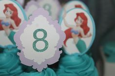 The Little Mermaid Birthday Party Ideas | Photo 1 of 30 | Catch My Party