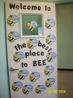 Bee themed classroom