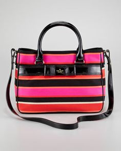 primrose hill striped goldie bag by kate spade new york at Neiman Marcus.
