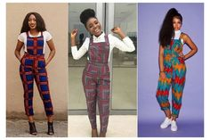 African Print Jumpsuit, African Print Dresses, African Print Fashion, African Dress, Ankara Jumpsuit, African Hair, Ankara Dress Designs, Ankara Dress Styles, Ankara Stil