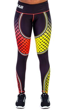 Ganar Women's Record Breaker Leggings. #leggins #gym #sports