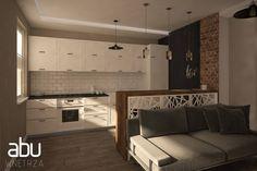 kitchen & living room, scandinavian design