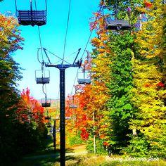 Fall in Love with Upper Michigan {Boyne Mountain}