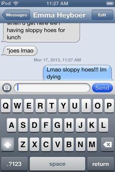 #sloppyhoes