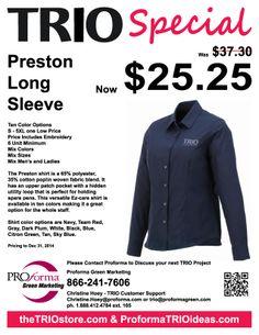 TRIO Preston Flyer #TRIO http://proformatrioideas.com