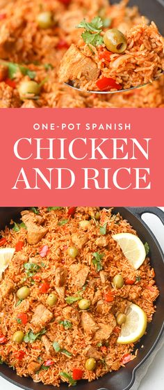 Get this one-pot Spanish chicken and rice recipe from Ahead of Thyme and discover more of our favorite meals you can make with a jar of tomato sauce.