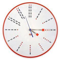 A Morse Code Clock