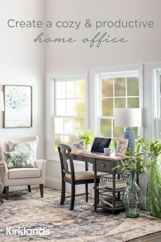 Inspiration for your home office! 📚 Tap the image to create a cozy and productive home office. ✨ Console Table, Dining Bench, Decorating Ideas, Decor Ideas, Bench With Storage, Home Office Furniture, Desk Chair, Getting Organized, New Homes