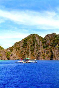Boatride to Banol Island
