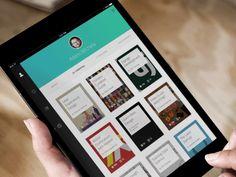 Gibbon iPad app grid (gif)