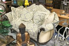 Traditional Aico Love Seat - Colleen's Classic Consignment, Las Vegas, NV - https://cccfurnishings.com