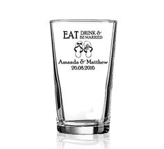 This large 3oz shot glass will satisfy any shot drinker customized with your special message.