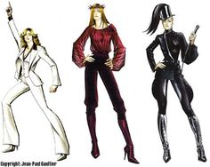 WE ♥ JEAN PAUL GAULTIER: MADONNA'S CONFESSIONS ON THE DANCEFLOOR TOUR SKETCHES BY JEAN PAUL GAULTIER