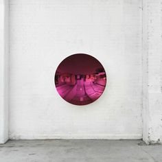 Anish Kapoor (born 1954), Untitled, 2012; signed twice and dated 2012 twice on the reverse; stainless steel and lacquer; 124.5 by 124.5 by 30 cm.; 49 by 49 by 11 13/16 in.