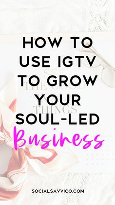 In this blog post, you'll learn three important things to get you started with IGTV and most why you should be using it to grow your Soul-Led Business! Instagram business, Instagram marketing, social media business. #instagram #socialmediamarketing #instagrammarketing Social Media Content, Social Media Tips, Social Media Marketing, Instagram Handle, Free Email, Business Tips, Instagram Story, Blogging, How To Get