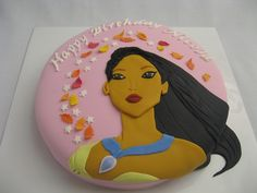 Pocahontas Cake for Catherine?