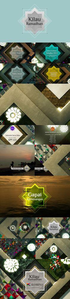 Kilau Ramadhan 2012 by koes adio, via Behance