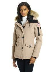 canada goose women's coat beige