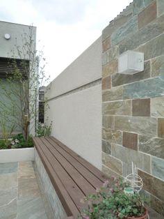 ガーデン施工事例 / 石、雑木、テラス