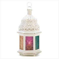 Ivory Enchantment Candle Lamp