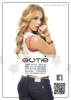 Contraportada catálogo Gutie Madres 2014 - Sexy, yet Casual #Fashion #sexy #woman #womens #fashion #neutral #casual #female #females #girl #girls #hot  #hotlooks #great #style #styles #hair #clothing  www.ushuaiajean.com.co