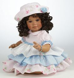 "Best Friends Forever - African American 12"". Doll by Marie Osmond"