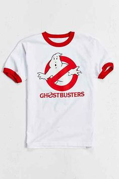 Ghostbusters Ringer Tee