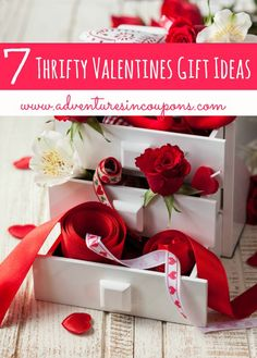 If Valentines Day is out of your budget this year, these 7 Thrifty Valentines Gift Ideas are just for you!