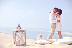 séance photo mariage plage  http://lamarieeencolere.com/post/35257901642/amoureux-plage