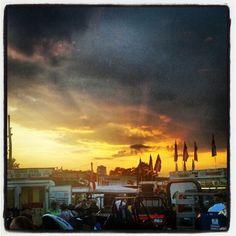 Sunset @ the County Fair