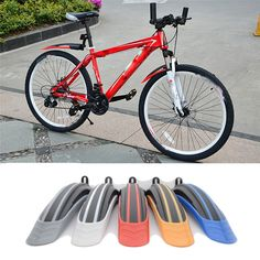 New Bike Bicycle Mudguards Mountain Cycling Fender Front & Rear Mud Guard Set Outdoor Sports Bike Bicycle Accessories July 13 #Affiliate