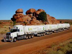 Australian road train