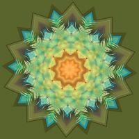 Keys to my Heart Mandala