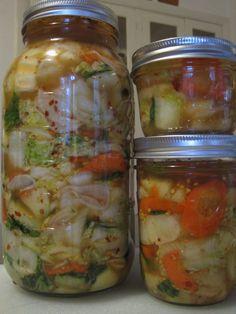 A pretty and simple kimchi recipe