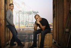 Wentworth Miller y Dominic Purcell vuelven a 'Prision Break'.
