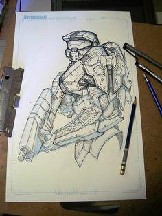 Sketches @ Breakfast 002 by RobDuenas