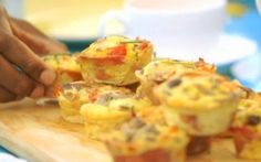 Cape Town Tarts by Siba Mtongana (Egg, Ham) @FoodNetwork_UK