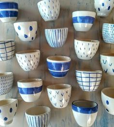 Impressive photo - go look at our content article for many more concepts! Pottery Painting Designs, Pottery Designs, Mug Designs, Pottery Mugs, Ceramic Pottery, Pottery Art, Painted Mugs, Hand Painted Ceramics, Stoneware Mugs